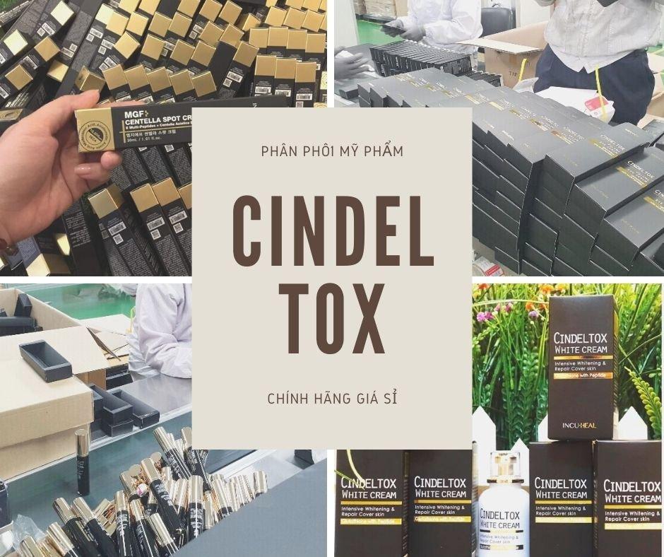 Phân phối mỹ phẩm Cindel Tox chính hãng giá sỉ tại Thành phố Hồ Chí Minh