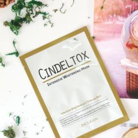 CINDEL TOX INTENSIVE WHITENING MASK - MẶT NẠ DƯỠNG TRẮNG CHUYÊN SÂU